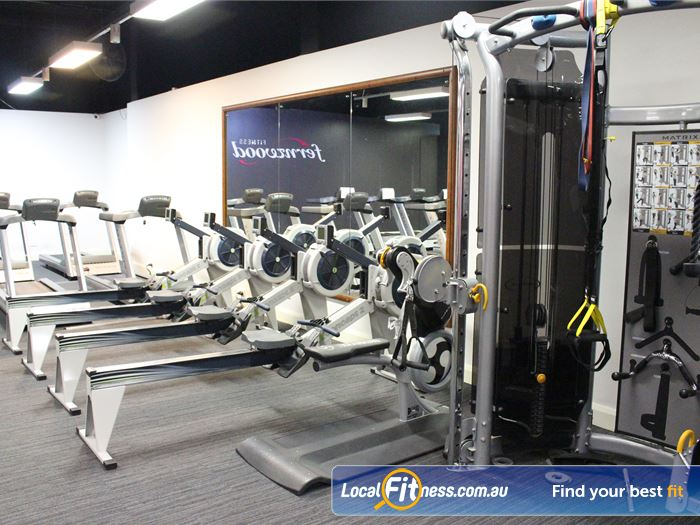 Fernwood Fitness Canberra City Gym Deakin  | Our Canberra gym includes rowers, treadmills, cross trainers