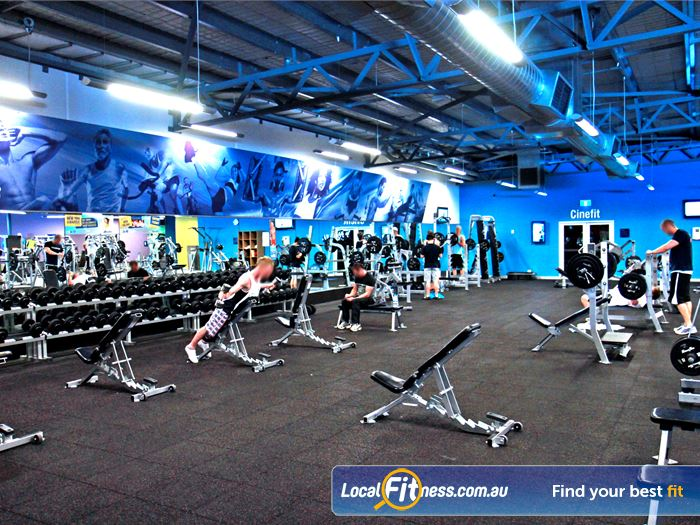 Goodlife Health Clubs Gym Cottesloe    Our Myaree gym features an extensive range of