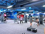 Goodlife Health Clubs Willagee Gym Fitness The open plan Myaree gym area.