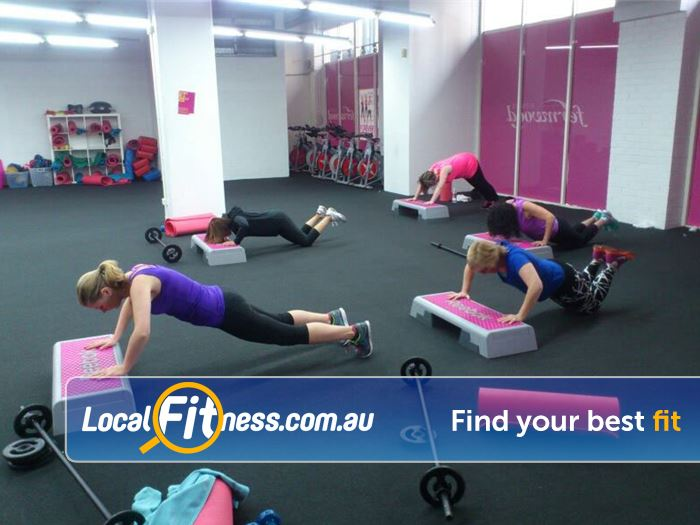 Fernwood Fitness Near Darlington Over 40 classes per week.