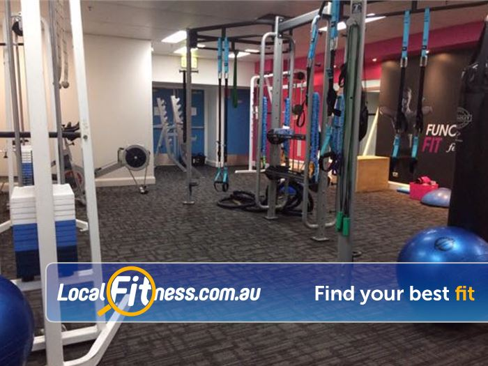 Fernwood Fitness Near Camperdown Get functionally fit in our functional training zone.