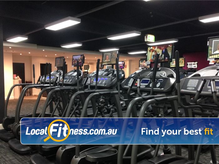 Fernwood Fitness Broadway Treadmills, cross-trainers, rowers and more.