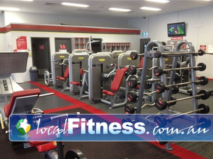 Snap Fitness Gym Bedford  | Our Bayswater gym includes pin and plate loading