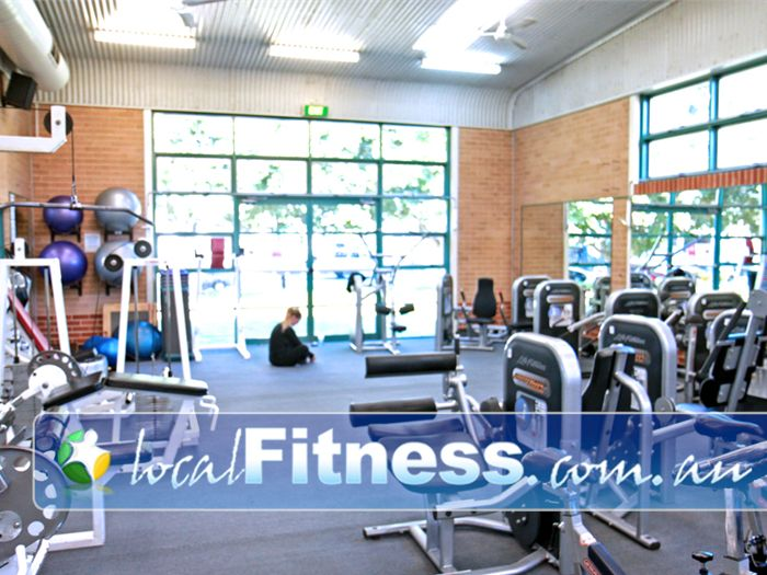 Five Dock Leisure Centre Gym Beverly Hills    The latest push button Life Fitness circuit equipment.