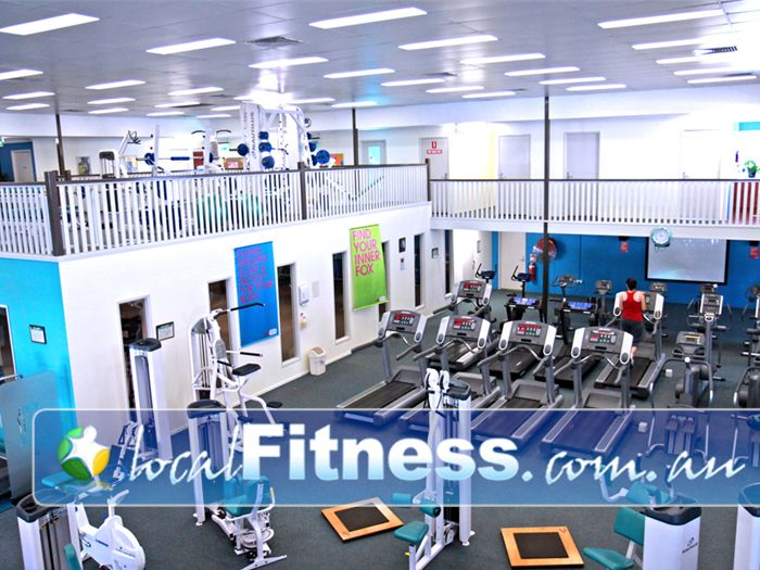 Fernwood Fitness Gym Toowoomba  | Our Toowoomba gym provides variety for your cardio