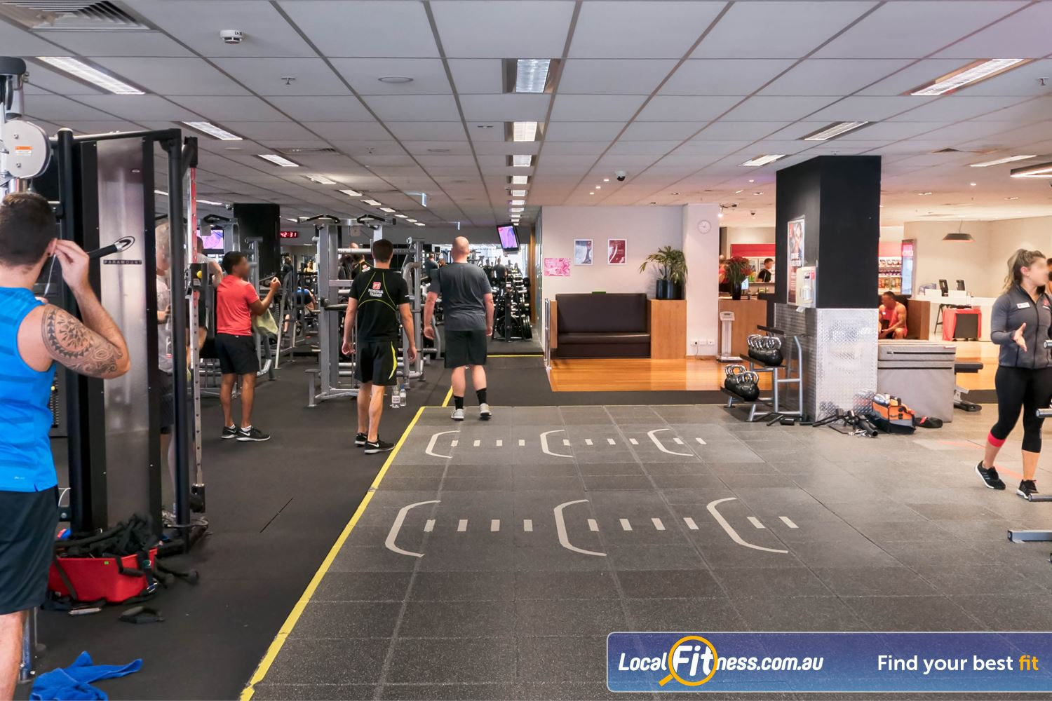 Fitness First Platinum Darlinghurst Welcome to the functional fitness community at our Darlinghurst gym.
