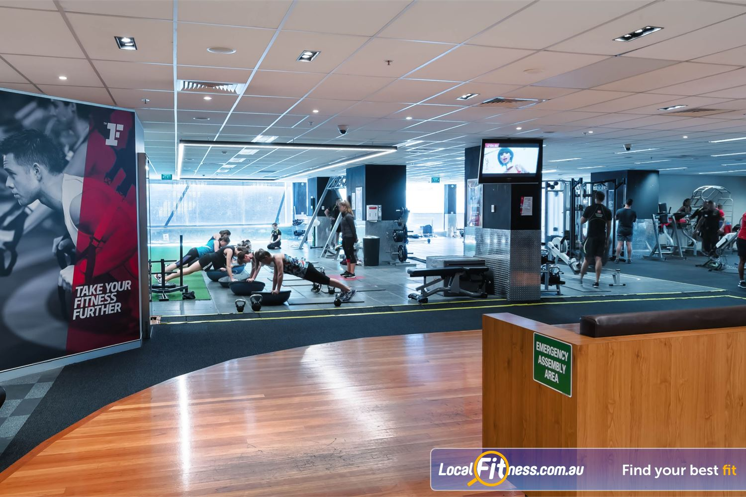 Fitness First Platinum Near Strawberry Hills The exclusive Darlinghurst gym includes a freestyle functional training space.