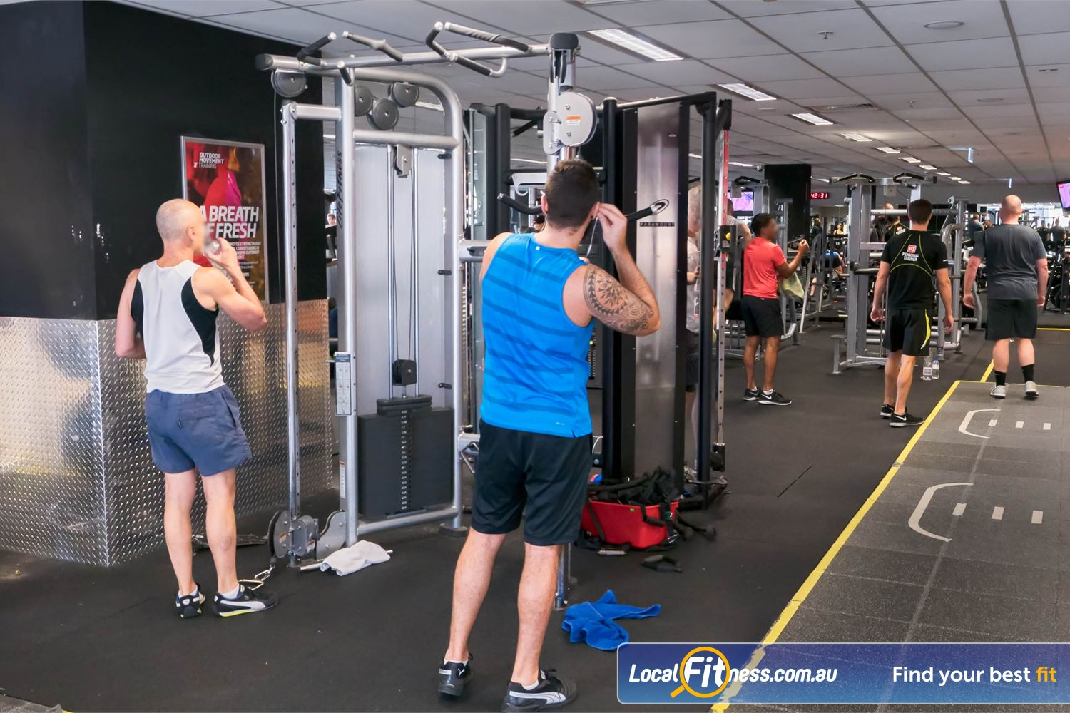 Fitness First Platinum Near Woolloomooloo Our Darlinghurst gym includes state of the art Life Fitness equipment.<br />