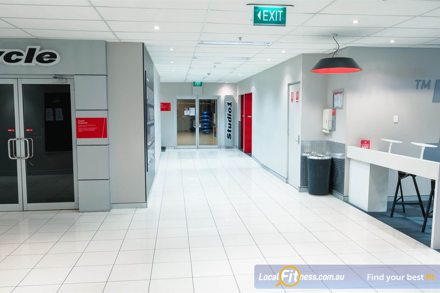 Fitness First Platinum Near Strawberry Hills Multiple dedicated group fitness studios including our Darlinghurst cycle studio.