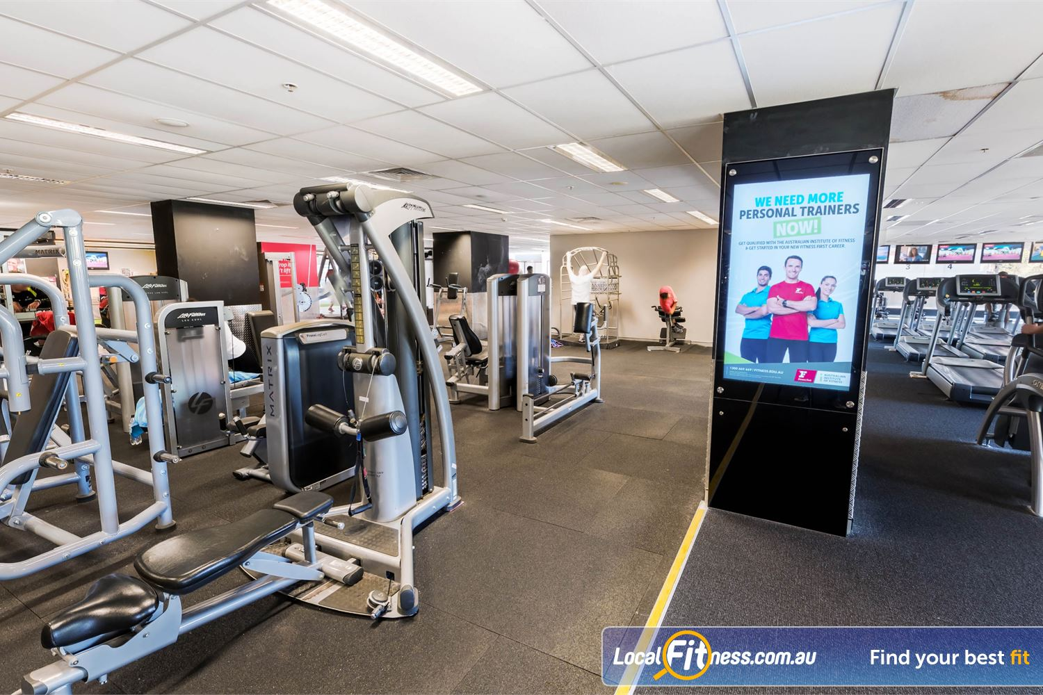 Fitness First Platinum Near Strawberry Hills Our Darlinghurst gym includes multiple strength areas inc. our pin-loading machines area.