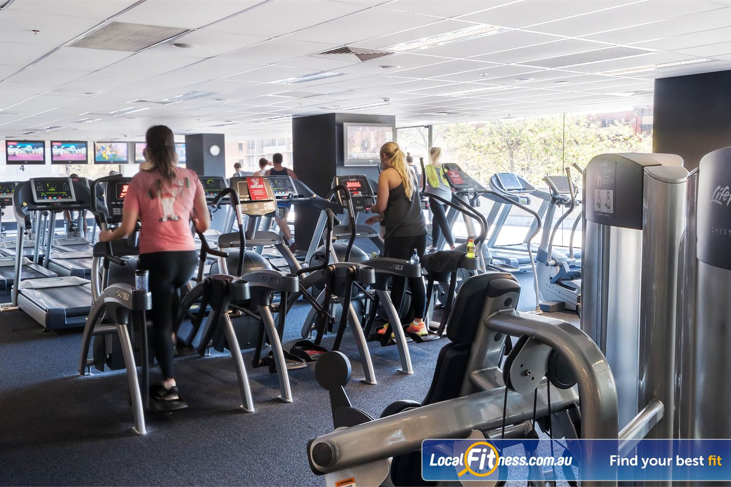 Fitness First Platinum Darlinghurst Treadmills, cross trainers, rowers and more in our cardio area.