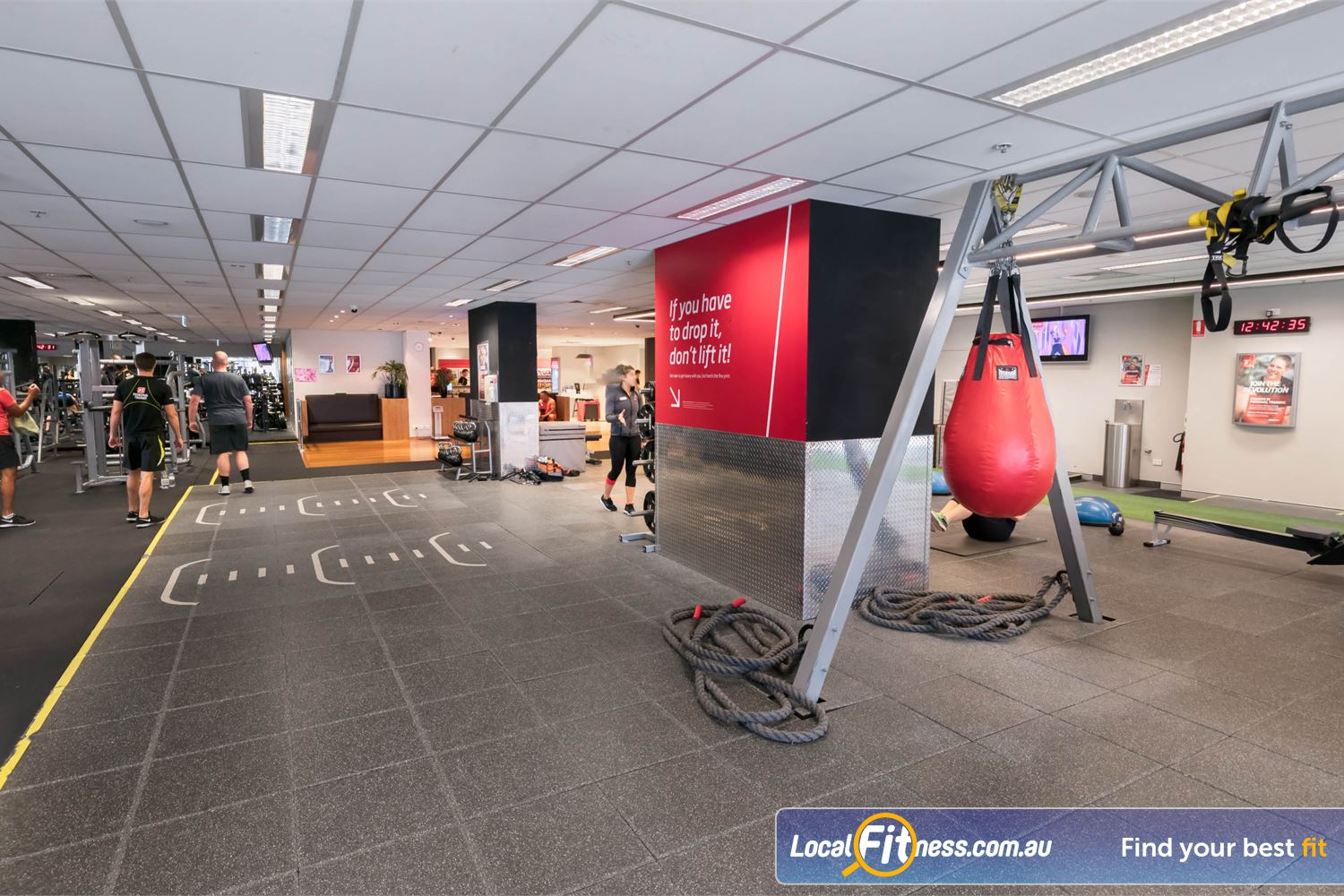 Fitness First Platinum Darlinghurst Our fitness community lovesFunctional Movement training in our freestyle training zone.