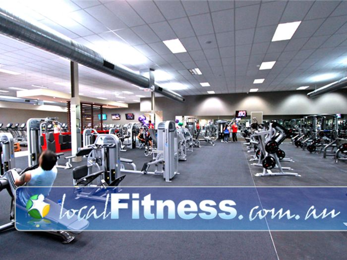 Genesis Fitness Clubs Gym Greensborough  | A spacious and modern Preston gym environment.