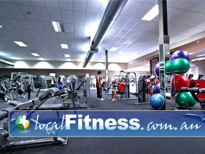 Genesis Fitness Clubs Near Reservoir Genesis Preston gym has a wide selection of free-weights and machines.
