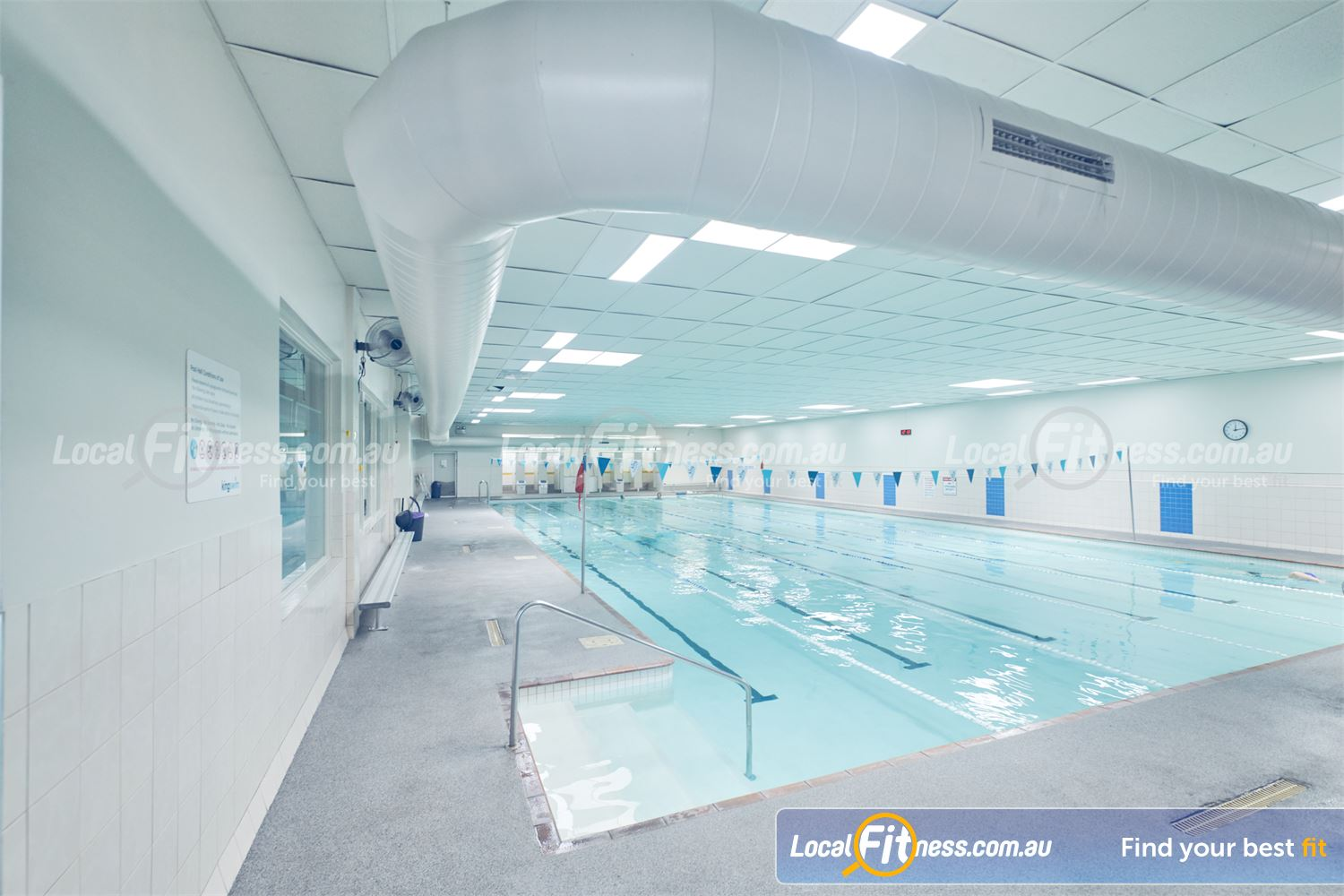 Goodlife Health Clubs Near Springvale South On-site Dingley swimming pool access for members.