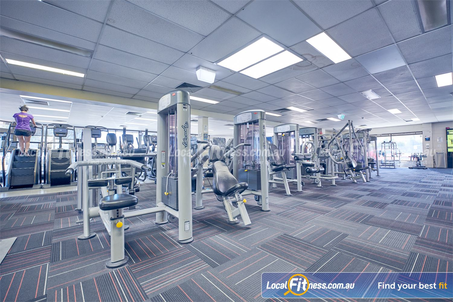 Goodlife Health Clubs Near Braeside Our 24 hour Dingley gym includes state of the art pin-loading machines.