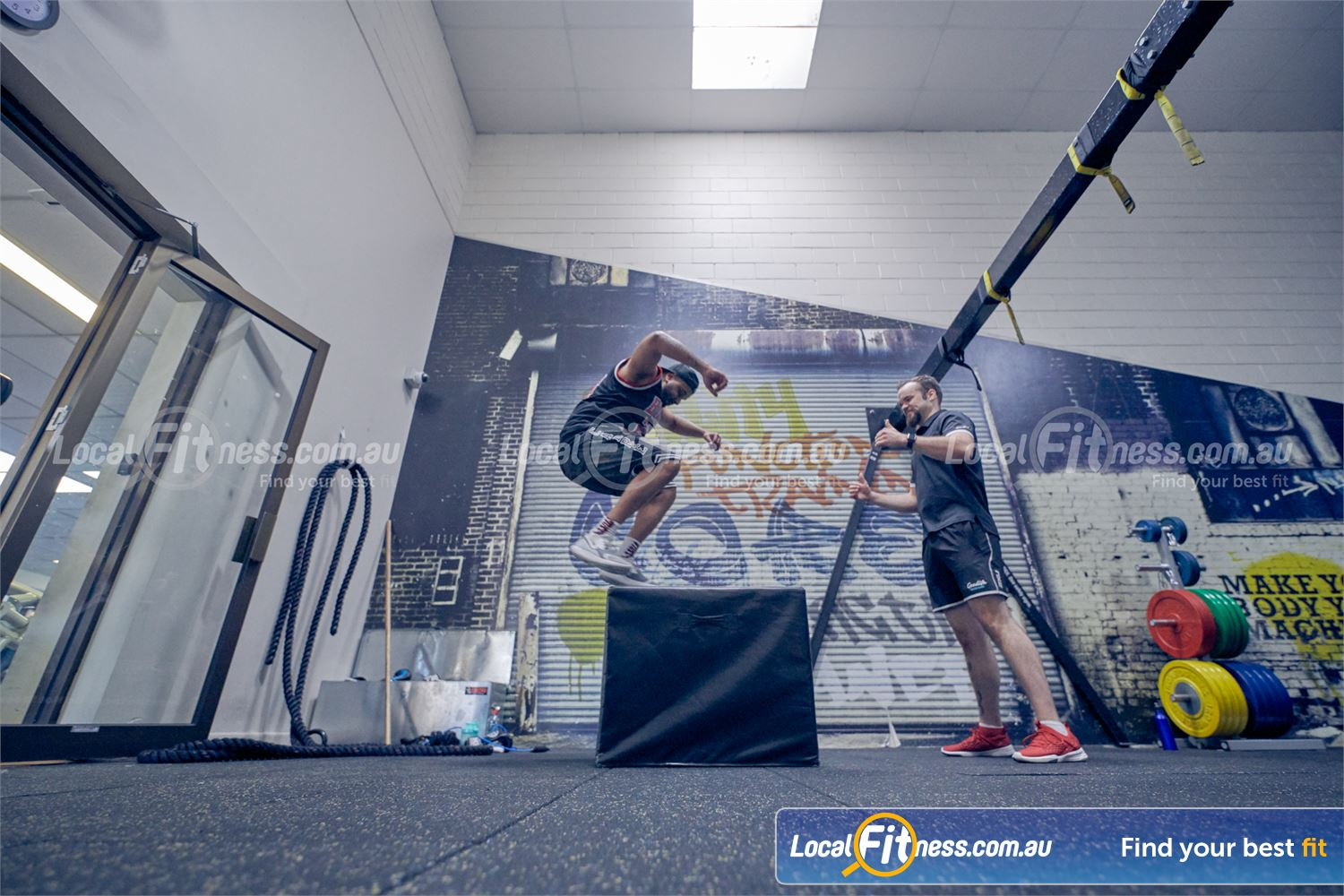 Goodlife Health Clubs Near Mordialloc Our Dingley gym team can take you through a plyometric training workout.