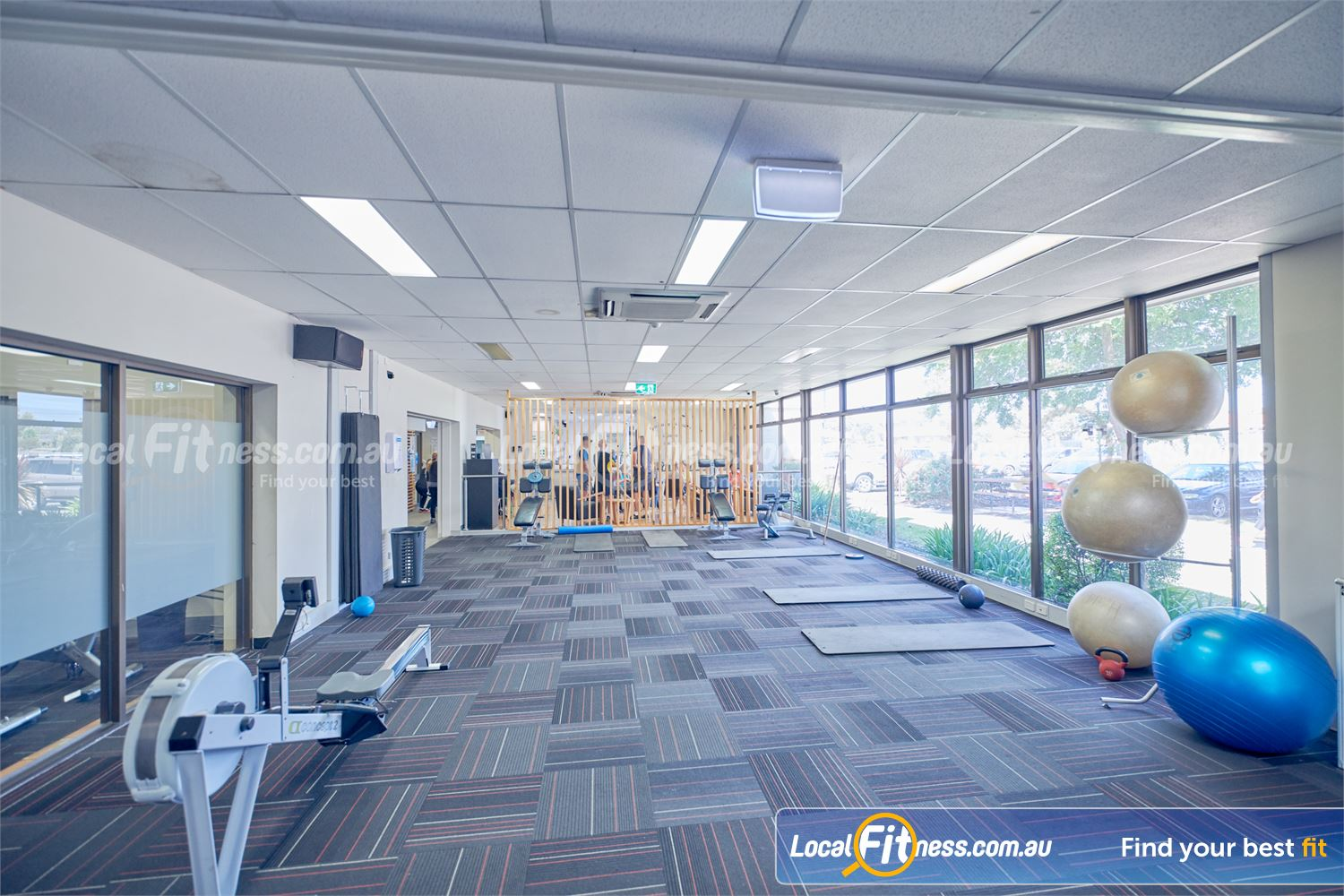 Goodlife Health Clubs Dingley Village The spacious Dingley gym is open 24/7.