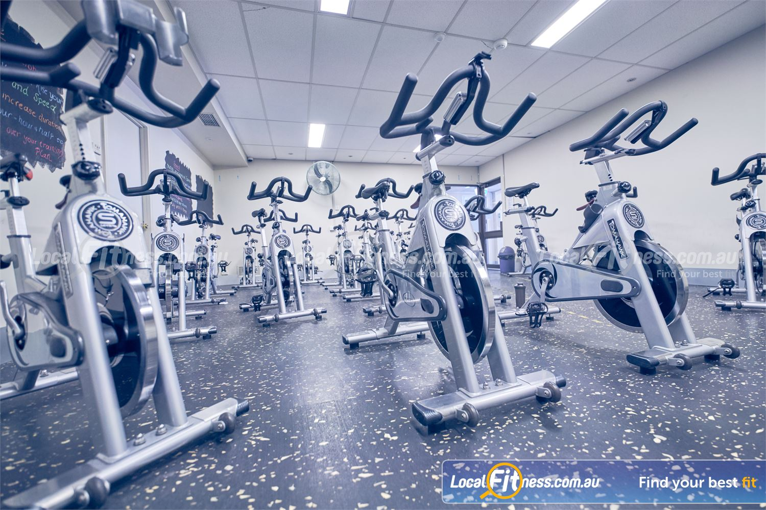 Goodlife Health Clubs Near Springvale South The dedicated Dingley spin cycle studio.