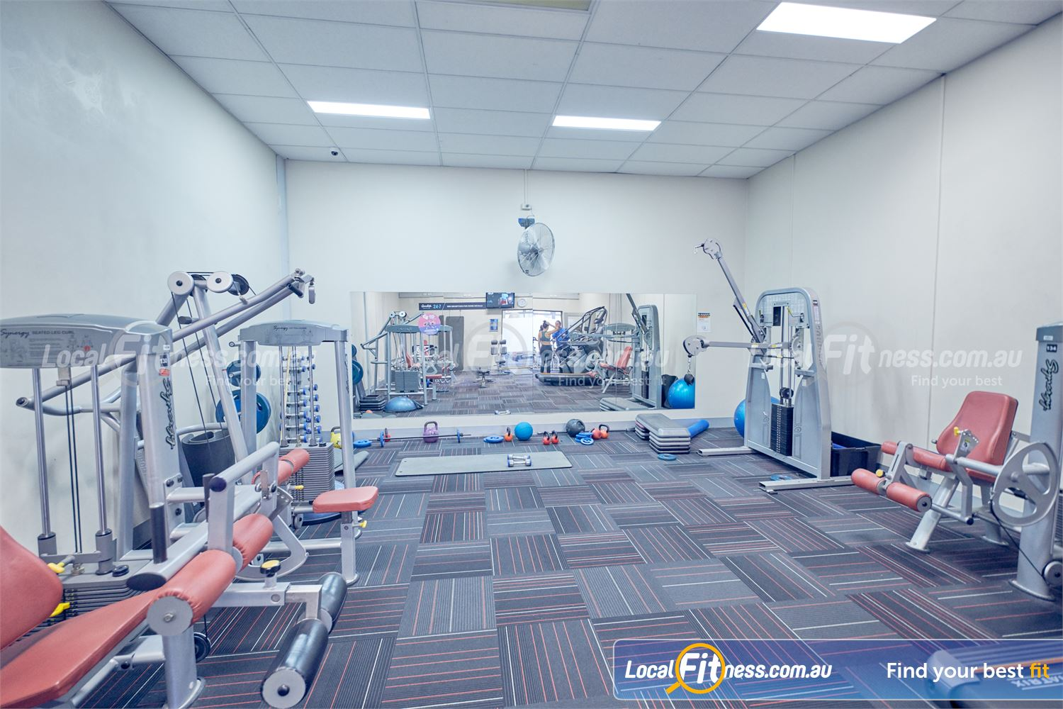 Goodlife Health Clubs Dingley Village The private Dingley womens only gym area.
