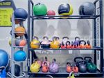 Goodlife Health Clubs Dingley Village Gym Fitness Fully equipped with wall balls,