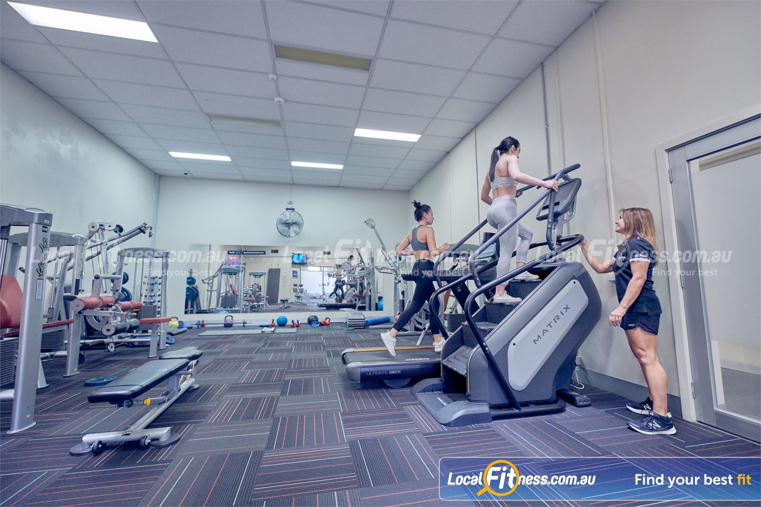 Goodlife Health Clubs Near Braeside Our Dingley gym team can tailor a women's focus program for you.