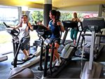 Monash Sport Fitness Centre Malvern East Gym CardioThe personal cardio theatre at
