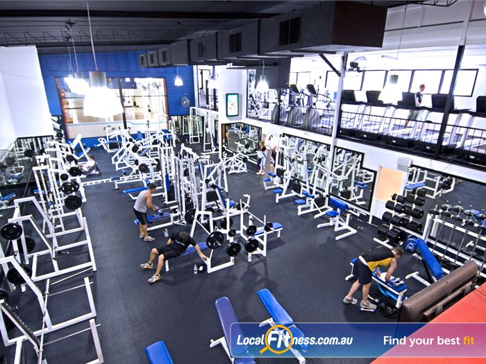 Goodlife Health Clubs Gym Bardon  | Our Bardon gym provides a beautiful open layout.