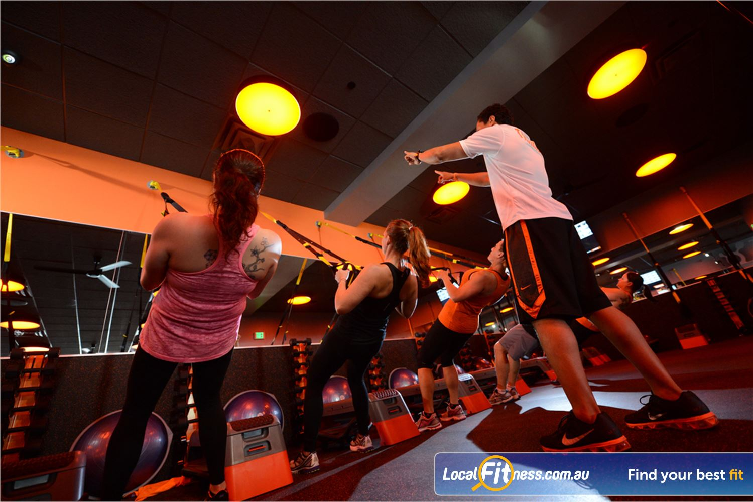 Orangetheory Fitness Near Hawthorn East Get the energy of a group workout with the attention of a personal coach.