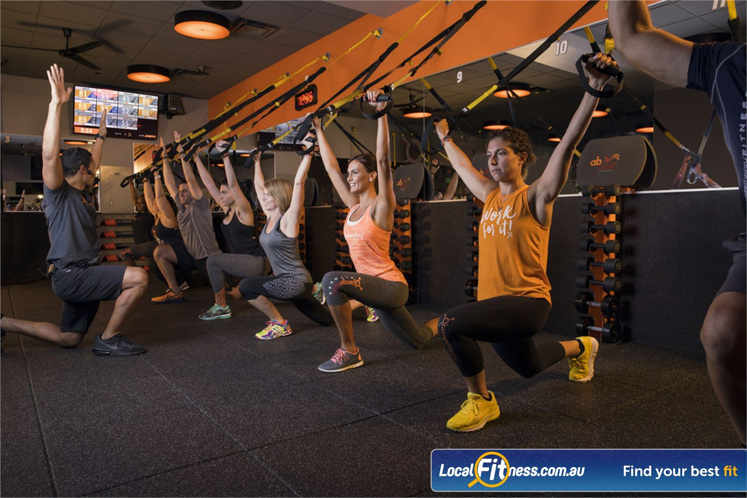 Orangetheory Fitness Hawthorn Our Hawthorn HIIT gym classes focus on getting you in the Orange Zone.