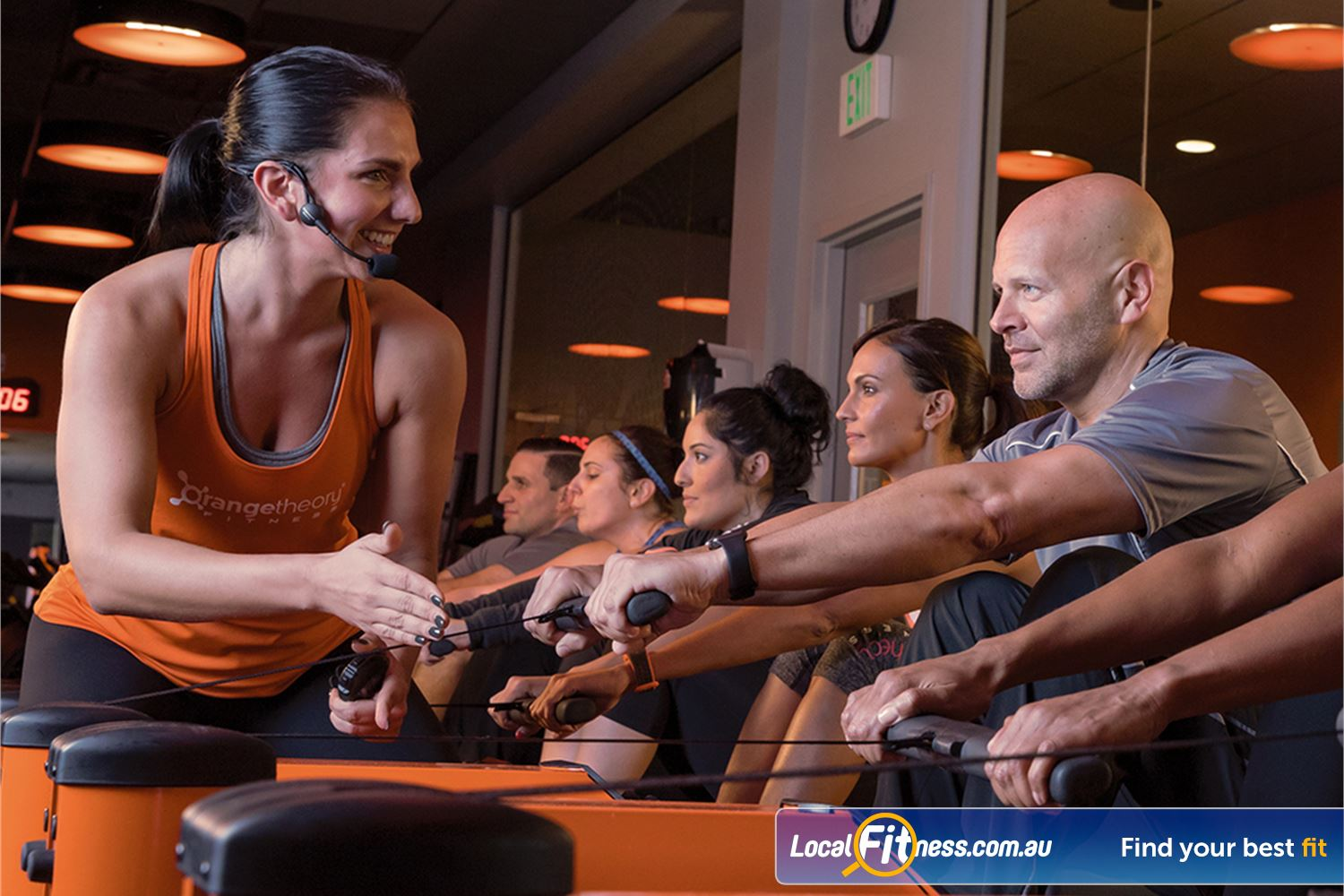 Orangetheory Fitness Hawthorn Our Hawthorn gym includes 12 state-of the-art rowers.
