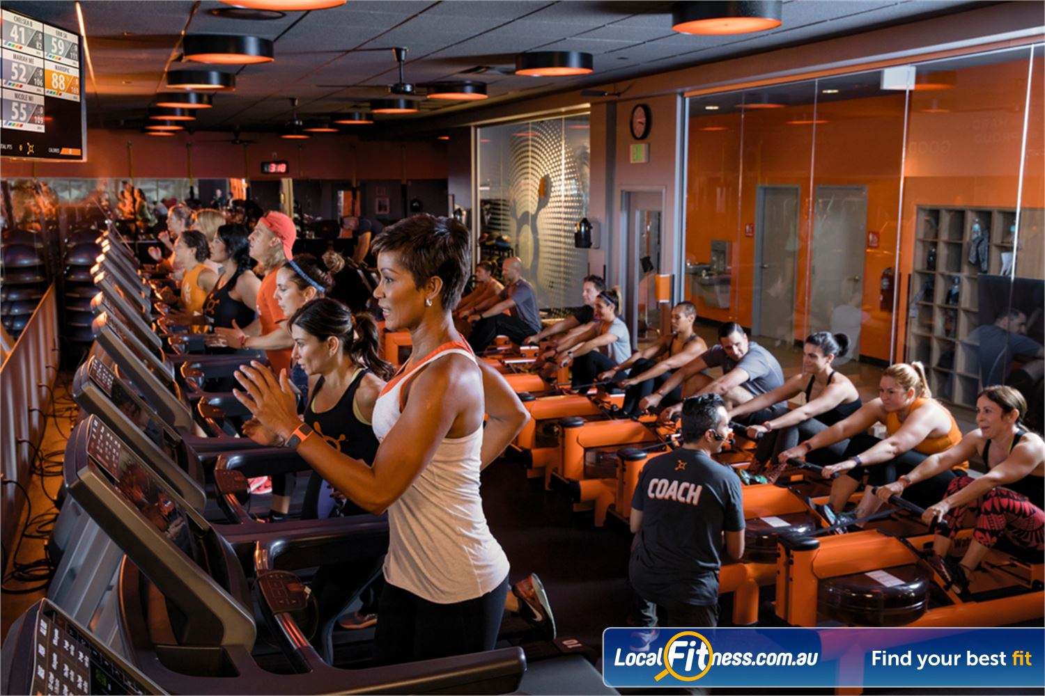 Orangetheory Fitness Hawthorn Track your workout effort on the OTConnect screens using your OTBeat monitor.
