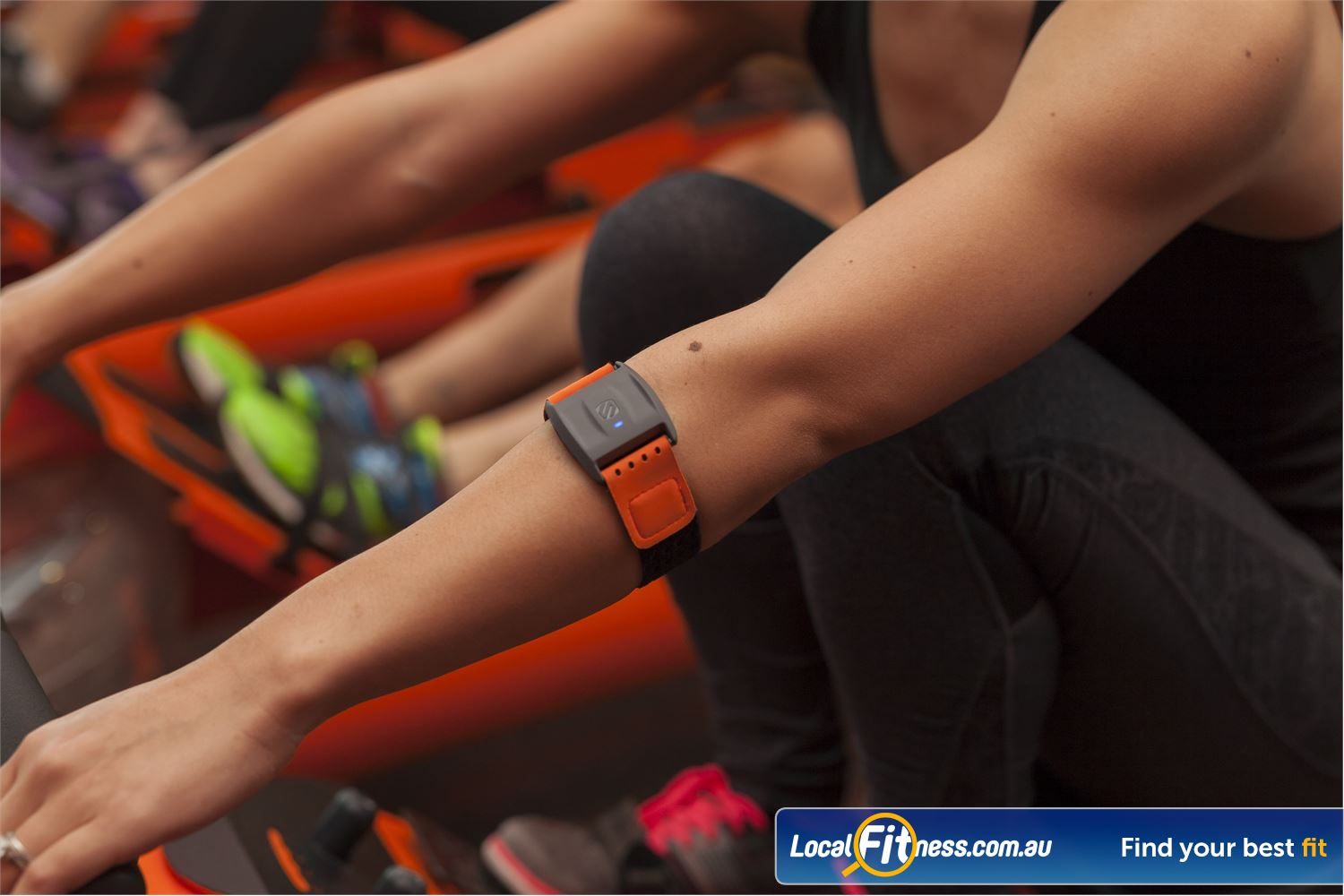 Orangetheory Fitness Hawthorn Our OTbeat technology measures your heart rate and performance data as evidence of a job well done.