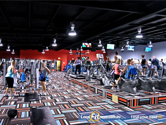 Goodlife Health Clubs Gym Padbury  | Our spacious Madeley gym is located at the