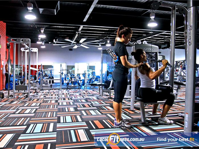 Goodlife Health Clubs Gym Edgewater    Madeley gym instructors can tailor a strength program