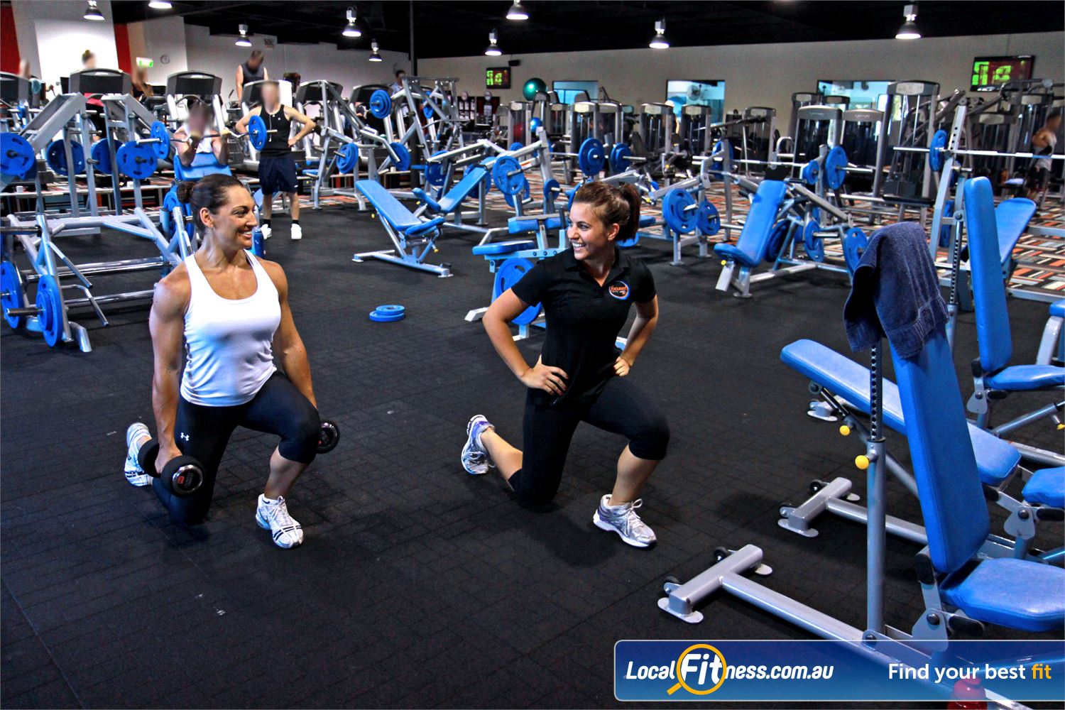 Goodlife Health Clubs Kingsway Near Wangara At our Madeley gym, pick from a large selection of free-weights.