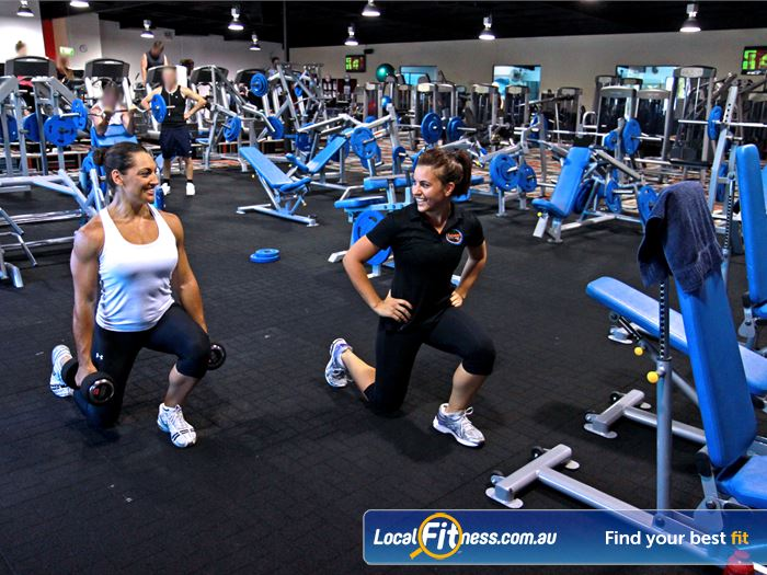 Goodlife Health Clubs Gym Padbury  | At our Madeley gym, pick from a large