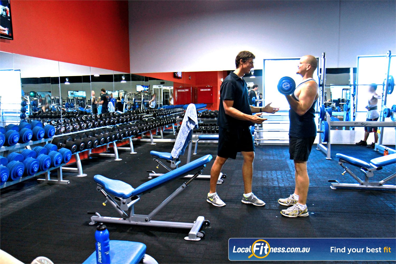Goodlife Health Clubs Kingsway Near Greenwood Madeley gym instructors can tailor a strength program to suit your goals.