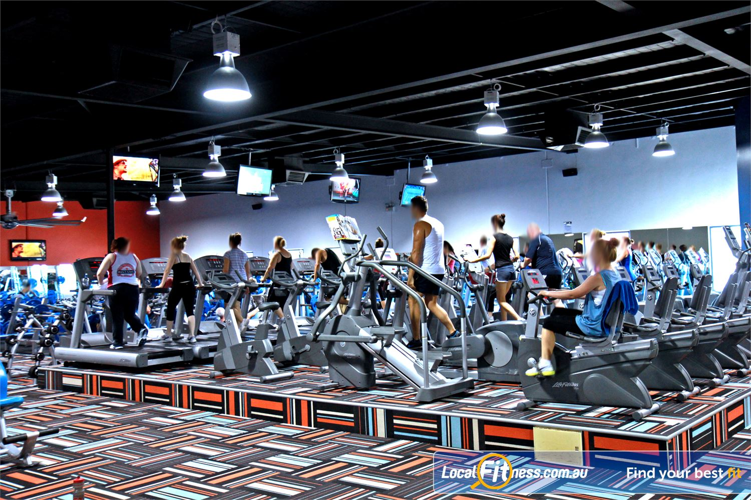 Goodlife Health Clubs Kingsway Near Pearsall Tune into your favorite shows on the cardio theatre.