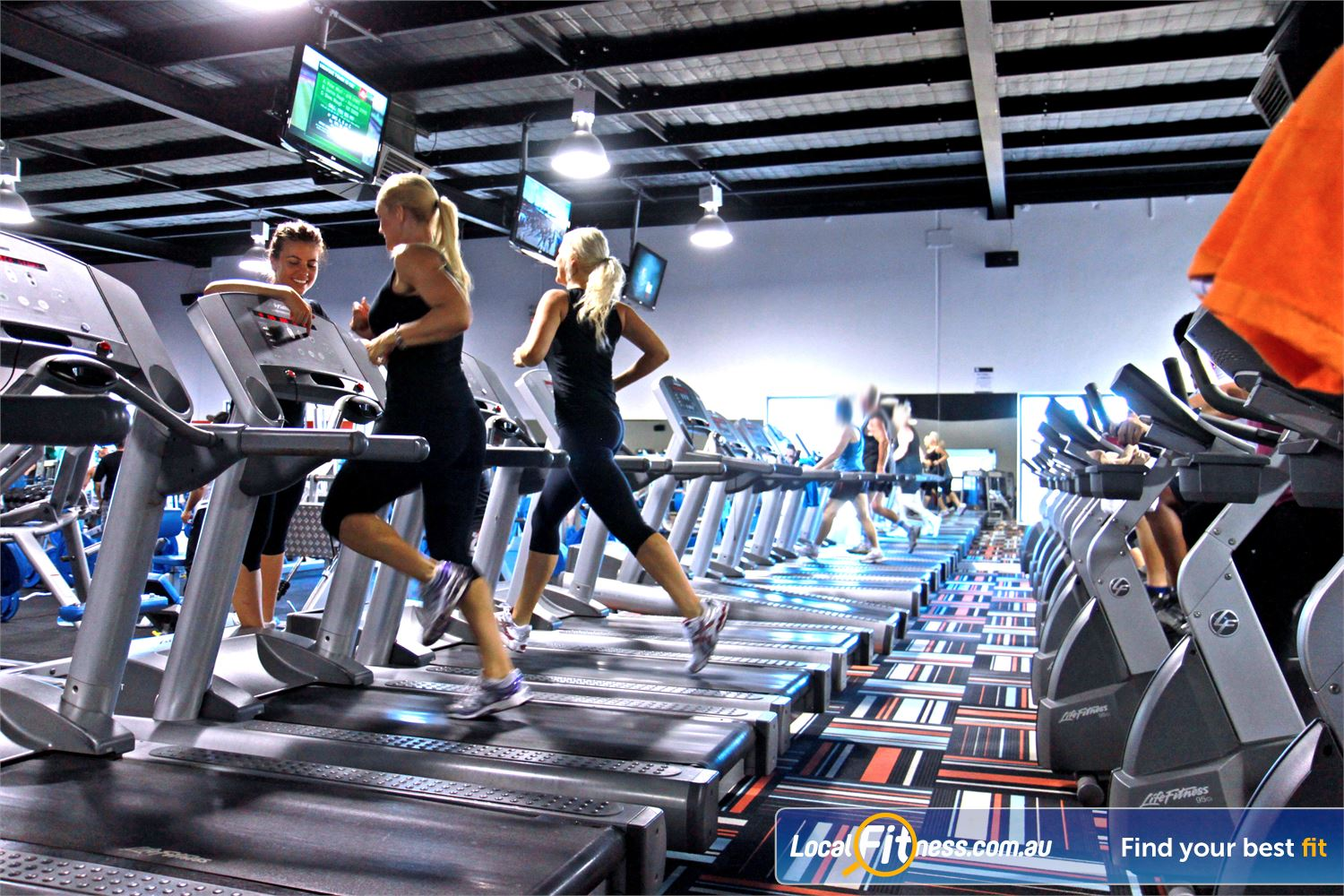 Goodlife Health Clubs Kingsway Madeley Experience state of the art cardio with more machines than you can imagine!