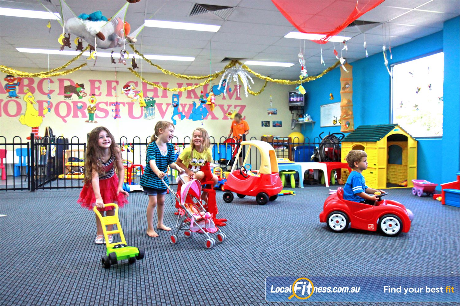 Goodlife Health Clubs Kingsway Near Pearsall Goodlife Madeley provides on-site child minding services.