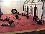 Fully equipped boxing and functional training space.