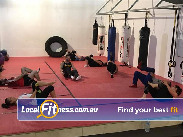 Viva Fitness Gym Royal Park  | Fully equipped boxing and functional training space.