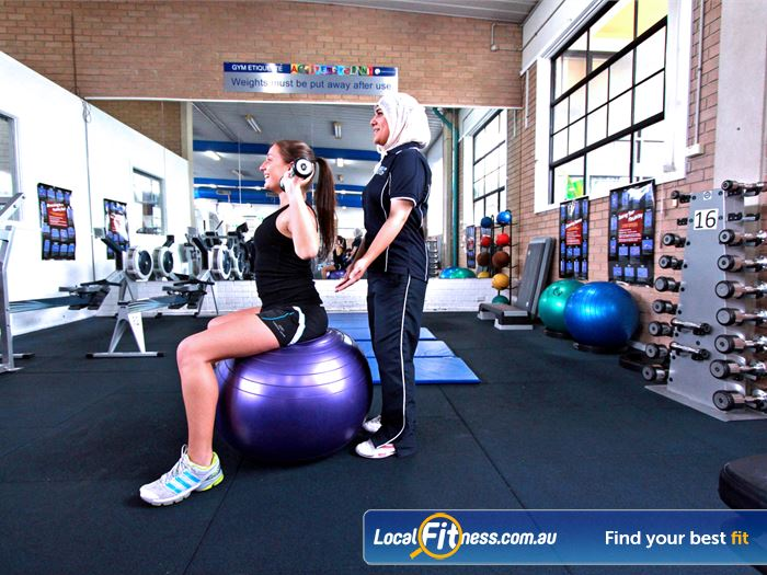 Fawkner Leisure Centre Gym Airport West  | Fawkner gym instructors can tailor a strength program