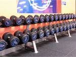 Dumbbells, barbells, kettlebells, benches and more.
