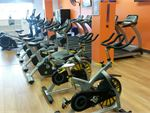 State of the art cardio with indoor cycle