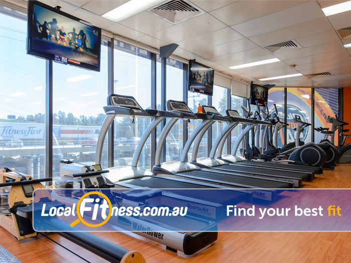 Plus Fitness 24/7  Gym Rockdale  | Our Rockdale gym provides stunning cardio views.