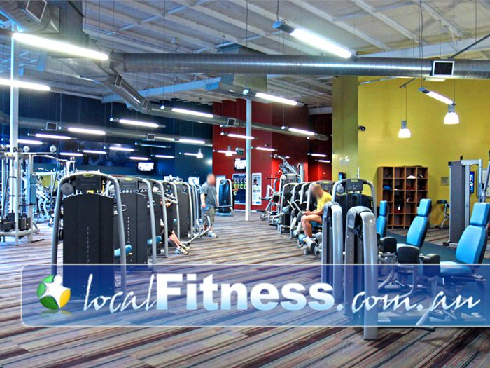 Ontic Health & Fitness Springwood Welcome the spacious Ontic Health & Fitness Springwood gym.