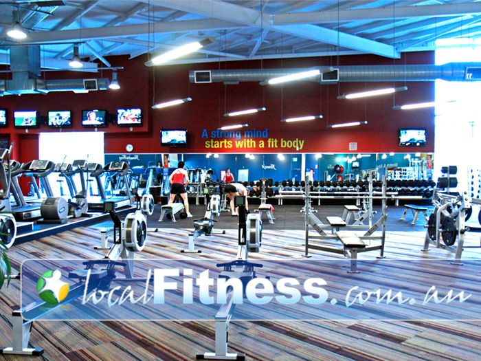 Ontic Health & Fitness Near Meadowbrook An extensive range of dumbbell and barbell equipment in Springwood.