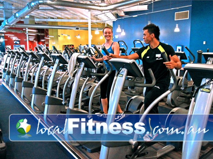 Ontic Health & Fitness Springwood Our Springwood gym team can support your cardio and weight-loss goals.